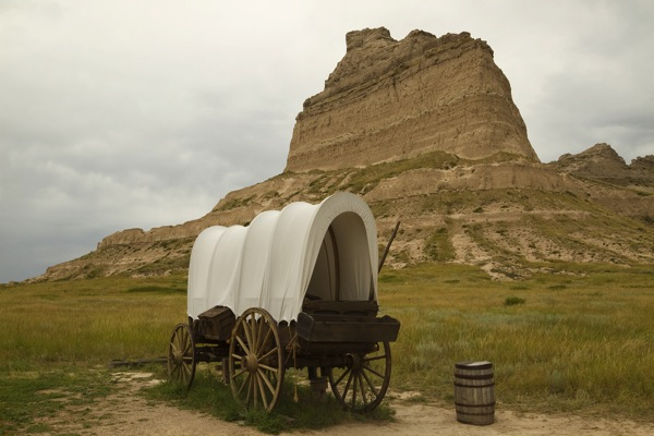 Oregon Trail Scottsbluff Historic Monument 10394126